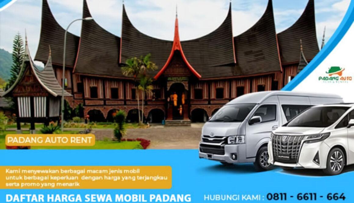 Daftar Harga Sewa Mobil Padang
